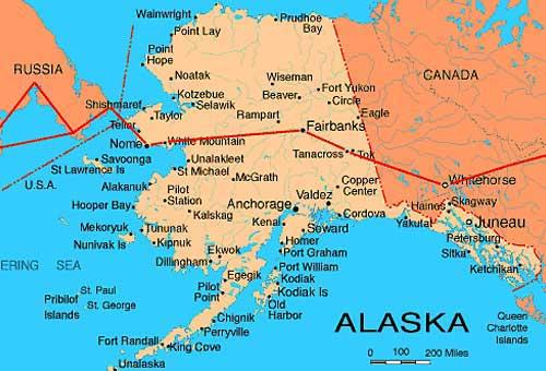 Маршрут перелёта Москва-Сиэтл: