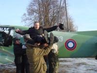 Самостоятельный вылет Игоря Гирикова