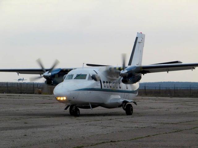 Л-410 в Мячково.