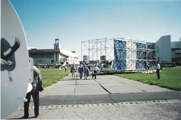 Юрий Николаев и Леонид Якубович прибыли на вылет.
