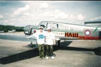 Дмитрий Сухарев и Вячеслав Маркалов после полёта.