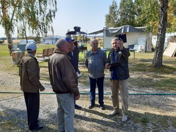 Встреча мастодонтов перелета в Сельниково