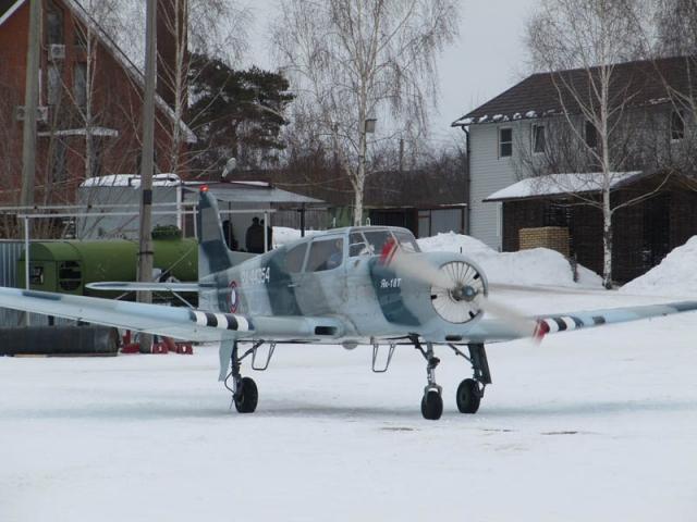 Зимние полёты.